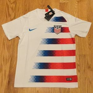 2018 USA Soccer Jersey Away white